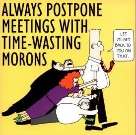 Mostly Time-Wasting Morons